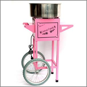 Fairy Floss Machines