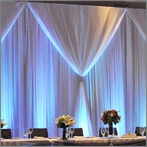 Wedding Backdrops, Chair Covers & Linen